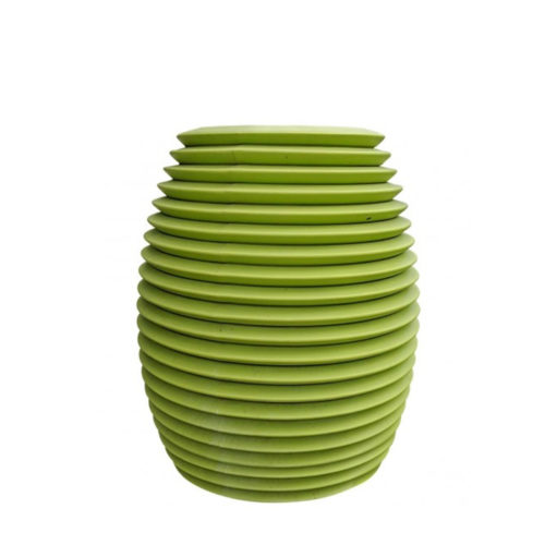 Serralunga's Top pot planter in green