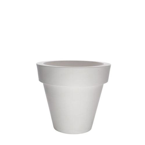 Serralunga's Vas One medium planter in white