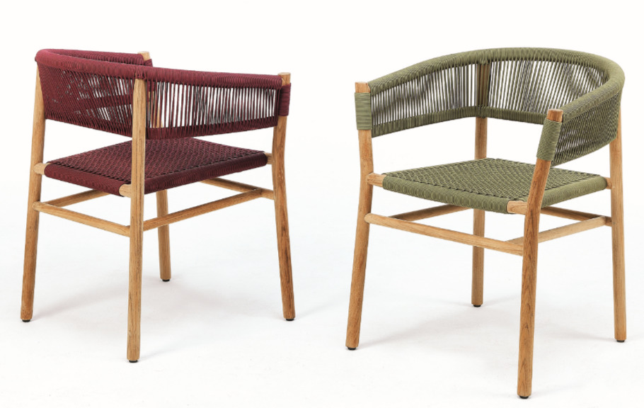 kilt dining chair red olive