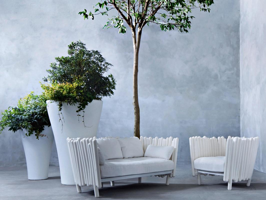 Ming high planter by serralunga core furniture online for Serralunga furniture