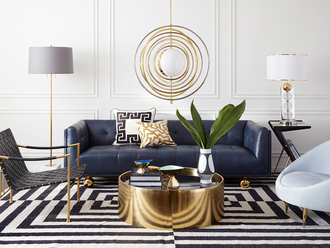 Alphaville Table Brass Jonathan Adler Core Furniture Lifestyle 1