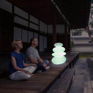 New Garden's Balans light in use.