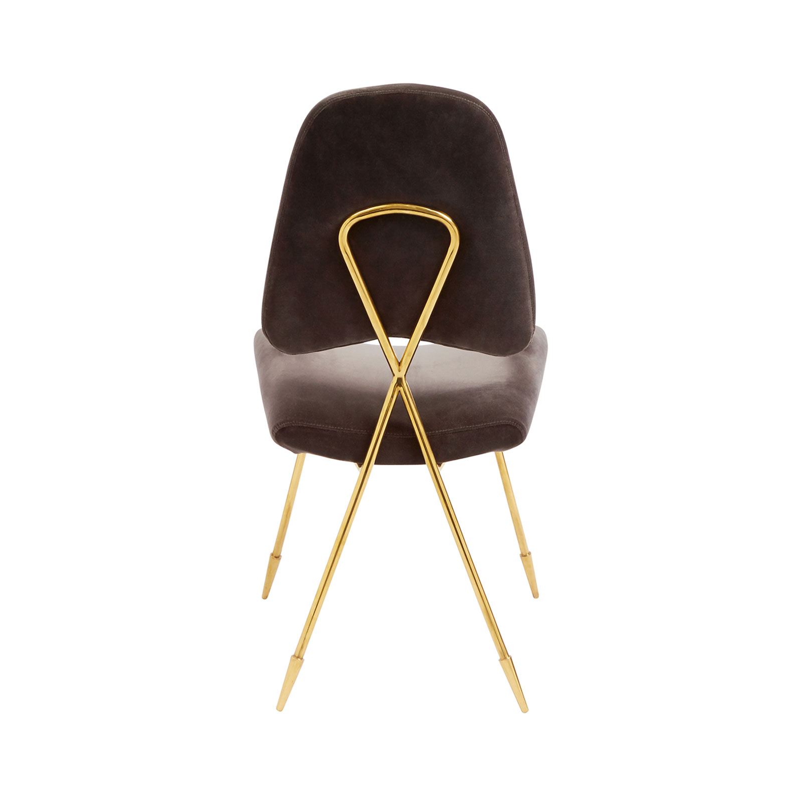 Maxime Velvet Dining Chair By Jonathan Adler Core Furniture Online