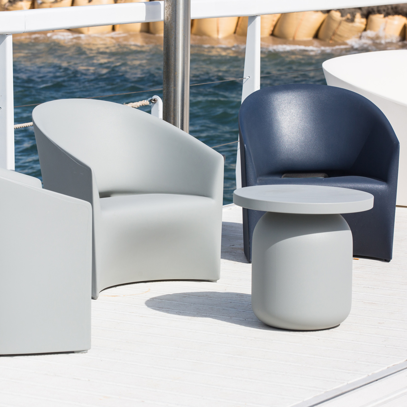 Pine beach armchair by serralunga core furniture online for Serralunga furniture