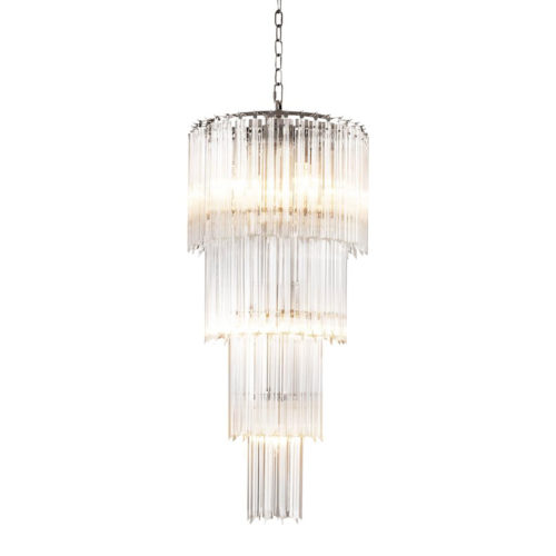 The Alpina S Chandelier by Eichholtz.