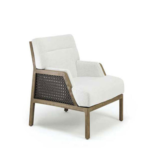 Ethimo's Grand life collection Bergere chair.