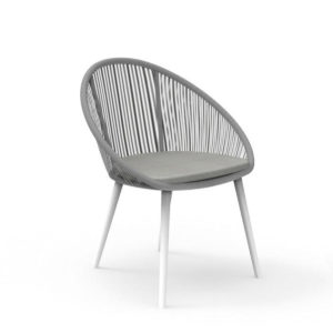 The Rope dining armchair by Talenti.