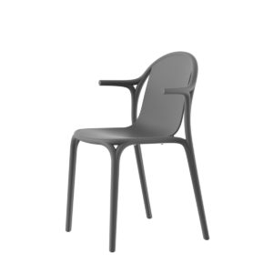 A Brooklyn chair with arms by Vondom.