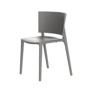 The Africa dining chair in ecru by Vondom.