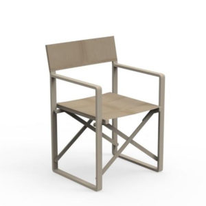 The chic director chair by Talenti.