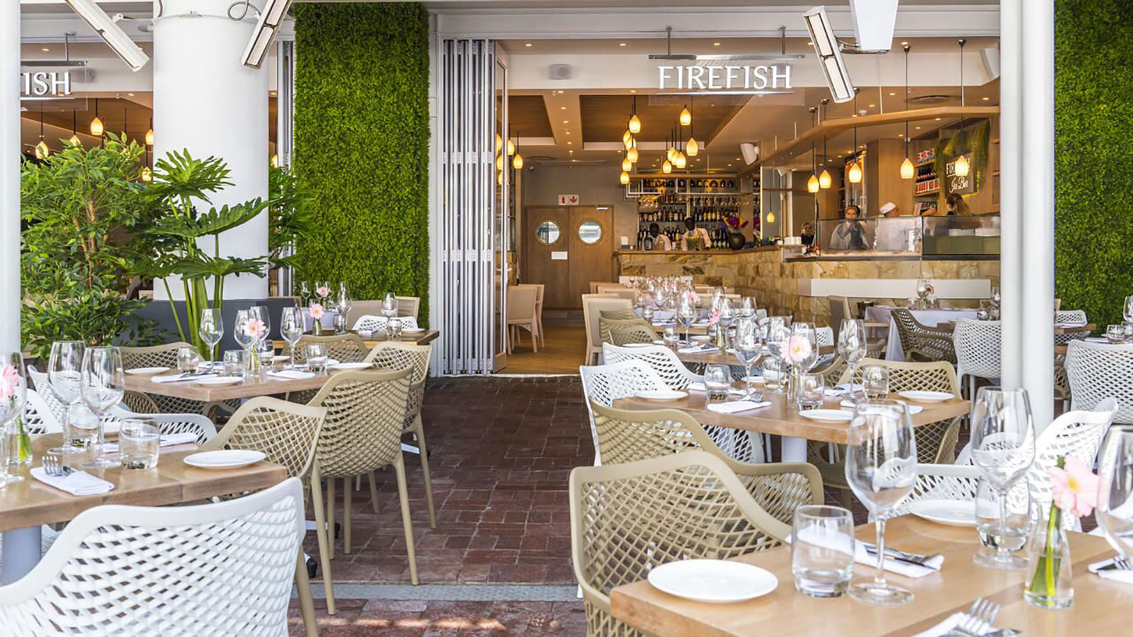 FIRE FISH RESTAURANT, CAPE TOWN