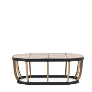 Ethimo's Swing collection XL coffee table.