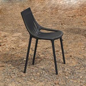 The Ibiza chair by Vondom in use.