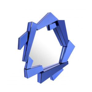 The Cellino Mirror by Eichholtz in blue.