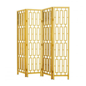 Eichholtz's Davis Folding screen in shimmering gold