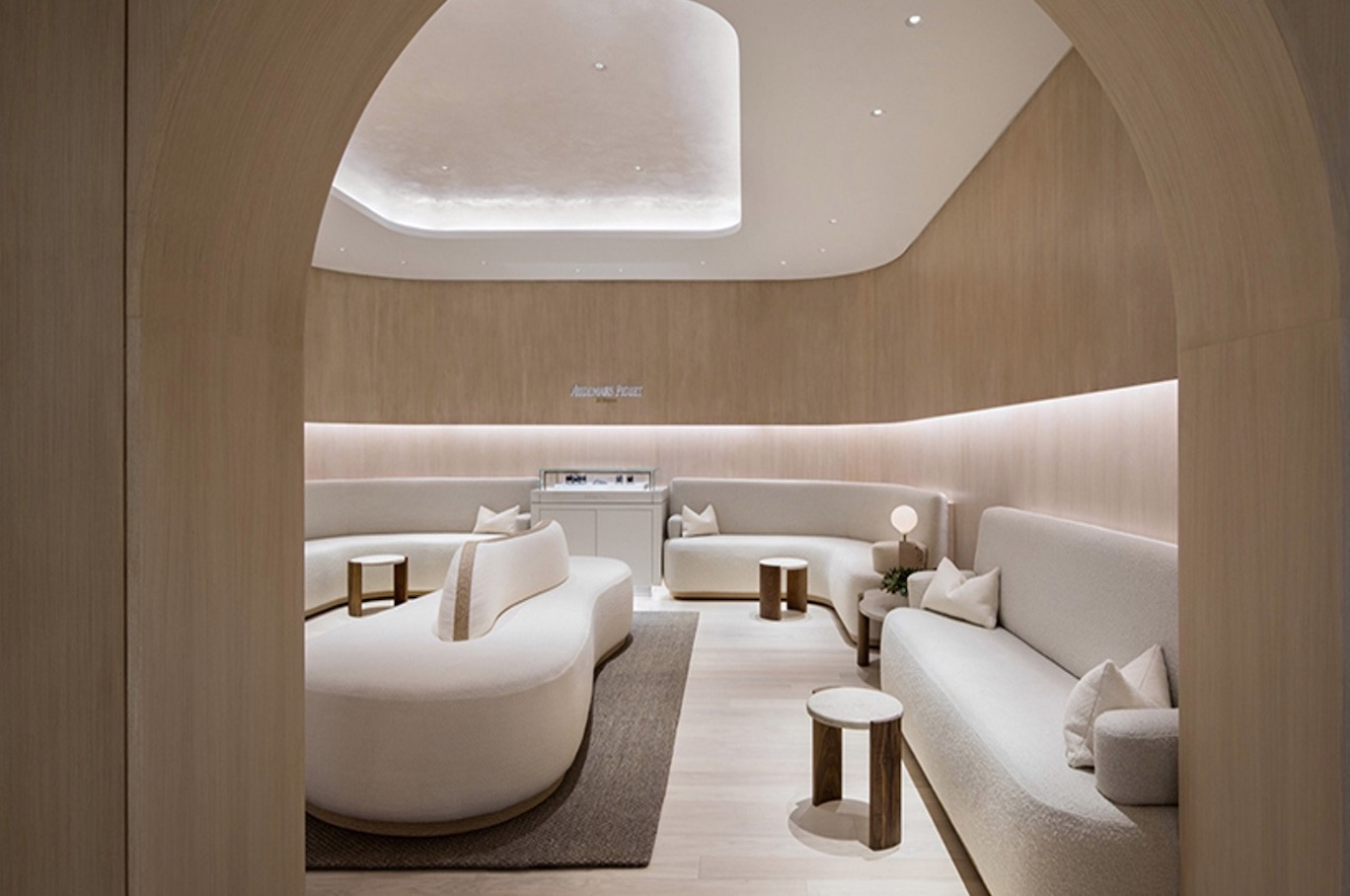 A LUXURIOUSLY CALMING SHOWROOM